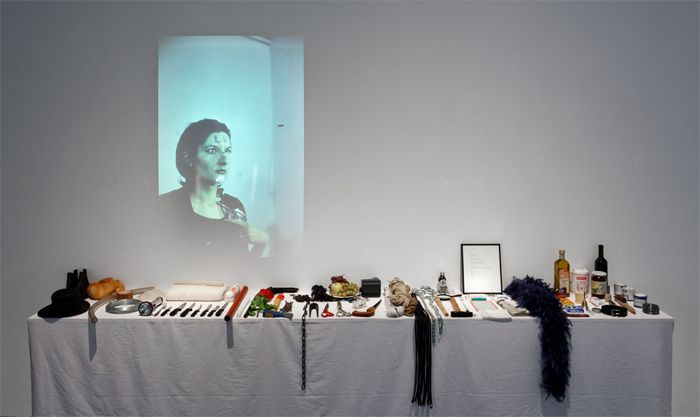 Marina Abramovic, <i>Rhythm 0</i><br />