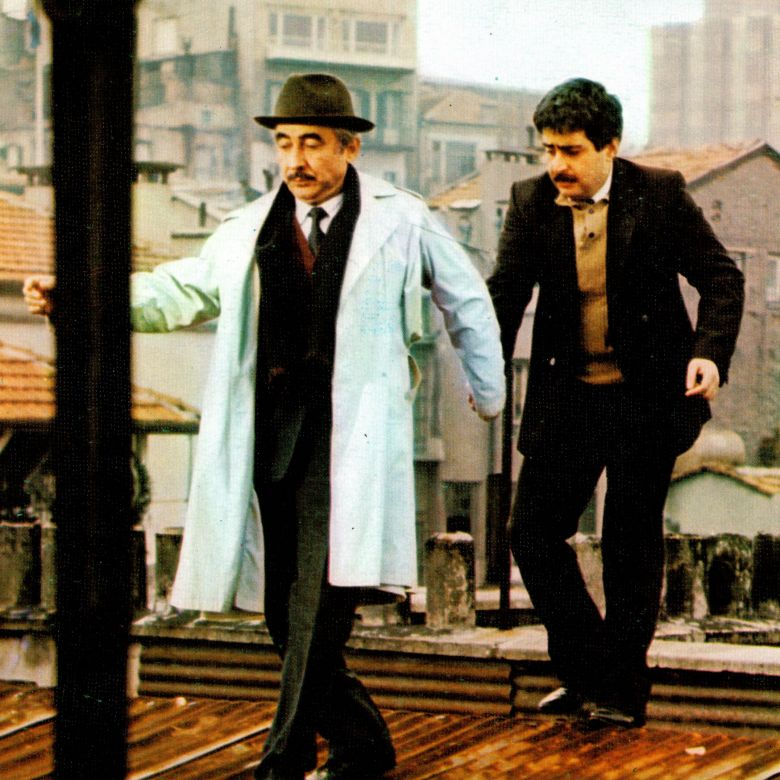 Still from Muhsin Bey [Mr. Muhsin] (1987) <i>Muhsin Bey</i> (1987) filminden bir kare ©Saran Media