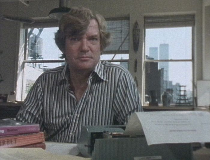 Still from The Shock of the New (1980)                                                                                                                                                                                                                          Robert Hughes<br />