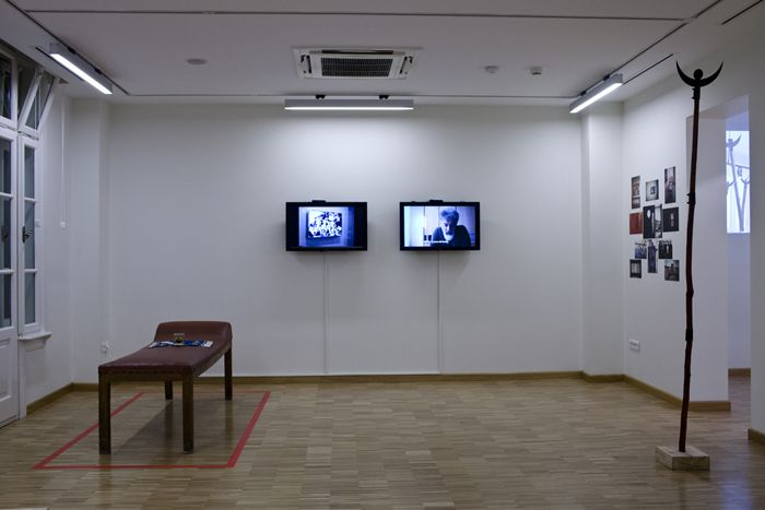 From the exhibition It was a time of conversation at SALT Ulus                                                                                                                                                                                                  SALT Ulus'taki <i>O zamanlar konusuyorduk</i> sergisinden<br />