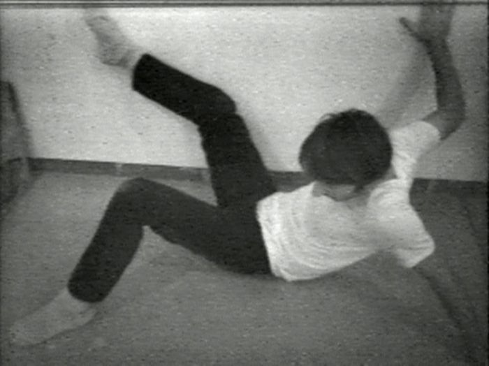 Bruce Nauman. <i>Wall-Floor Positions</i>, 1968.<br />