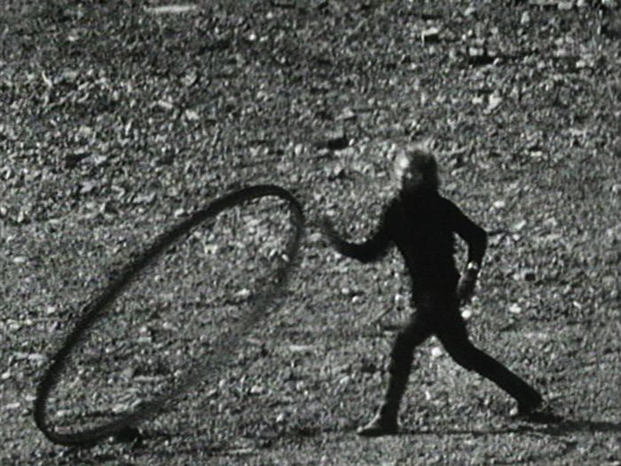 Still from Joan Jonas' film <i>Song Delay</i> (1973)<br />