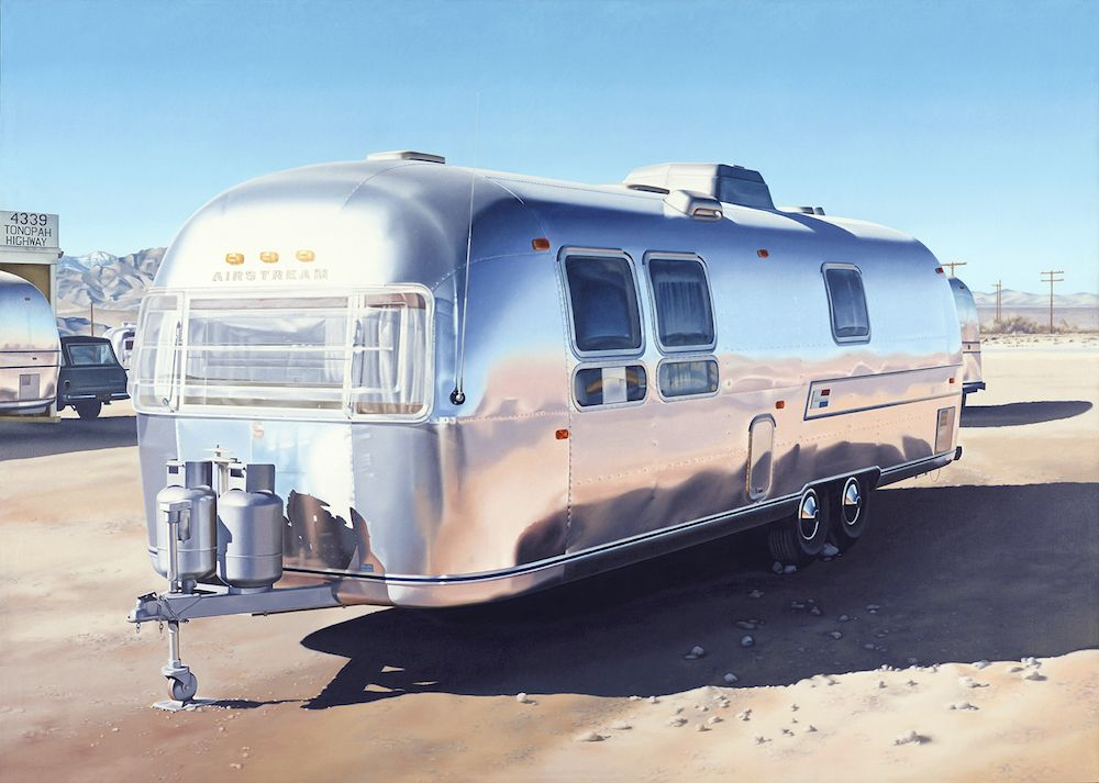 1 Ralphgoings Airstream 1970 Ralph Goings, <i>Airstream</i>, 1970 ©The mumok, Museum moderner Kunst Stiftung Ludwig Wienmumok (Viyana)