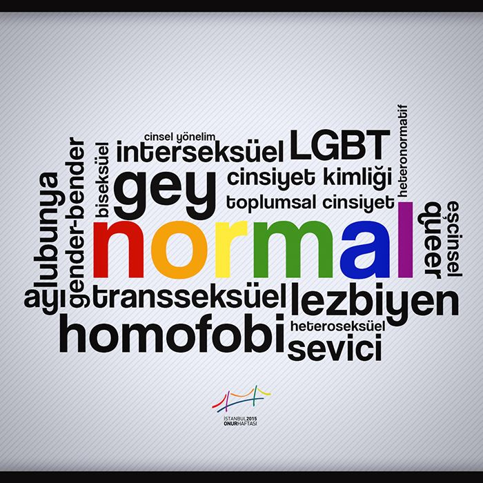İstanbul LGBTİ Pride Week Theme: Normal
