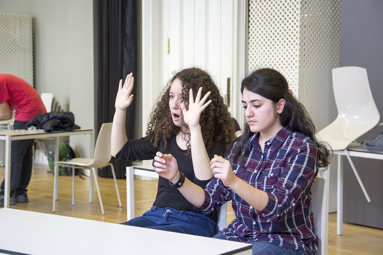 Workshop: Creative Drama For High School Students