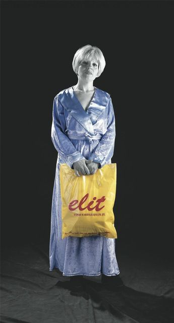Suitcase 4 <i>Elit</i>, (1999), digital print on vinyl