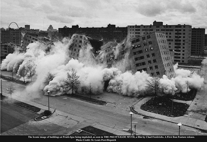 The Pruitt-Igoe Myth [Pruitt-Igoe Miti] (2011) filminden bir kare <i>The Pruitt-Igoe Myth</i> [Pruitt-Igoe Miti] (2011) filminden bir kare ©Unicorn Stencil Documentary Films. Fotoğraf: State Historical Society Of Missouri