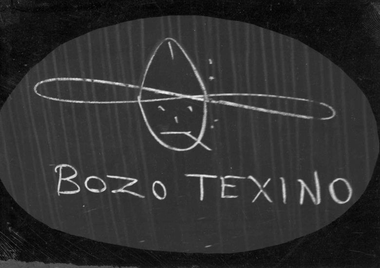Whoisbozotexino 2005 <i>Who is Bozo Texino?</i> (2005) belgeselinden bir kare ©Video Data Bank